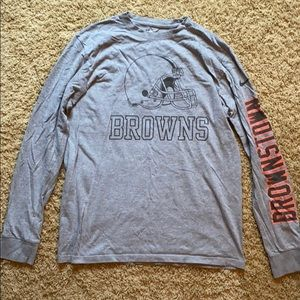 NIKE  CLEVELAND BROWNS NIKE LONG SLEEVE